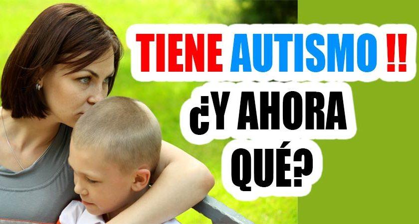 madre de niño autista